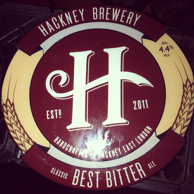 Coming on now to replace the brilliant Rudgate brewery's best bitter! #hackneybrewery #bestbitter #realale